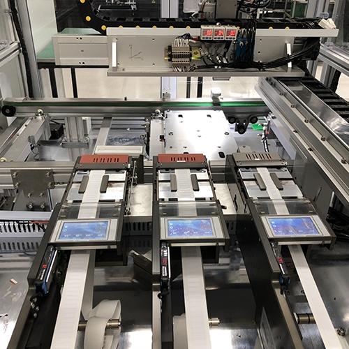 非标自动化贴标签设备